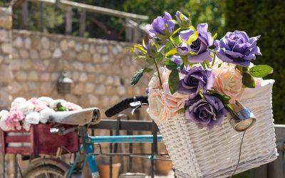Decorar con Bicicleta de época